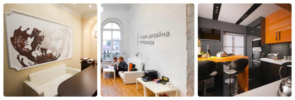 Дизайн интерьера помещений по франшизе