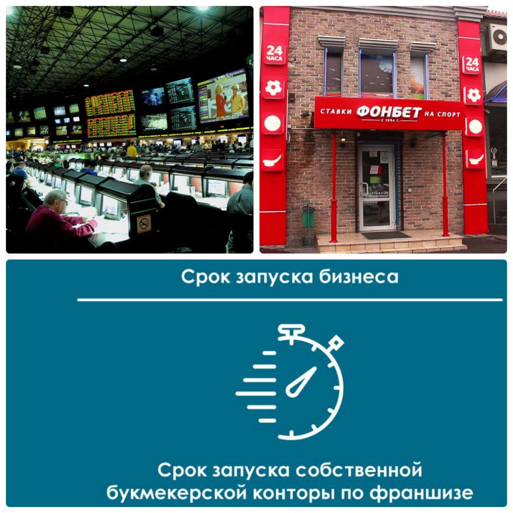 Открытие бизнеса по франшизе букмекерской конторы